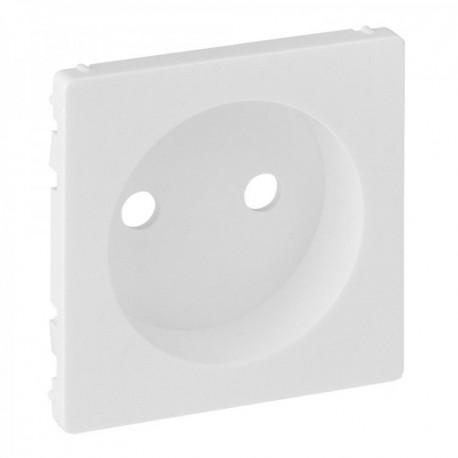 Лицевая панель розетки без заземления, цвет белый, Valena Life 754970