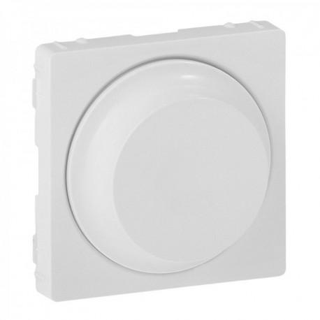 Лицьова панель світлорегулятора поворотного, колір білий