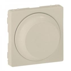 Лицевая панель светорегулятора поворотного, цвет слоновая кость, Valena Life 754881