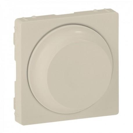 Лицьова панель світлорегулятора поворотного, колір слонова