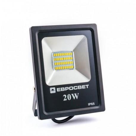 Прожектор EVRO LIGHT EV-20-01 20W 6400K 1400Lm