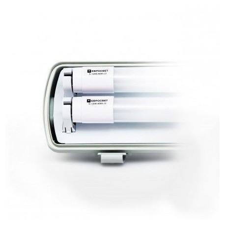 Светильник EVRO-LED-SH-2х10 с LED лампами 4000К (2х600мм)