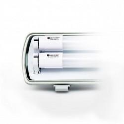 Светильник EVRO-LED-SH-2х10 с LED лампами 6400К (2х600мм)
