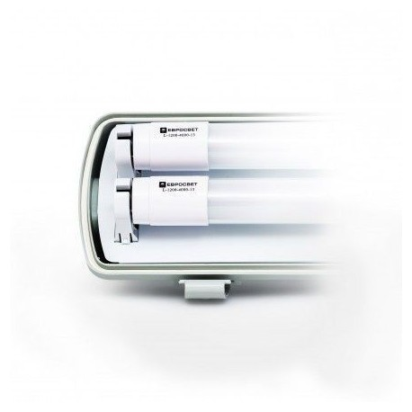 Светильник EVRO-LED-SH-40 с LED лампами 6400К (2х1200мм)