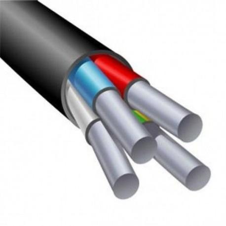 Провод алюминиевый АВВГ 4х6 (ГОСТ)