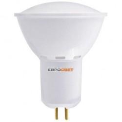 Лампа светодиодная Евросвет G-6-3000-GU5.3 6Вт