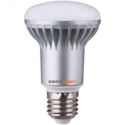 Лампа светодиодная Евросвет R63-7-3000-27 7Вт
