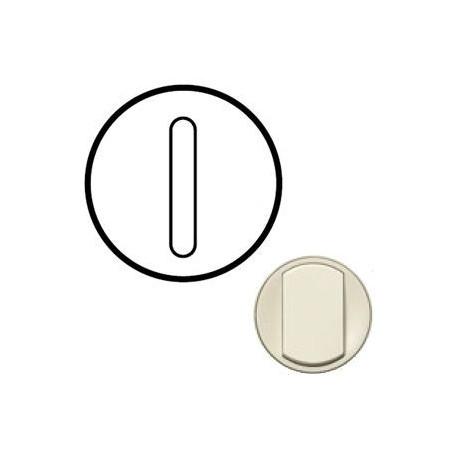 Лицевая панель механизма выключателя 1-кл. бесшумного, цвет слоноваяая кость, Celiane 66216
