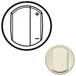 Лицевая панель механизма диммера, цвет слоновая кость, Celiane 66250