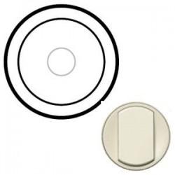 Лицевая панель механизма выключателя сенсорного, цвет слоновая кость, Celiane 66284