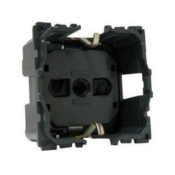 Механизм розетки 2К+З немецкий стандарт, винтовые зажимы, Celiane