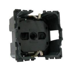 Механизм розетки 2К+З немецкий стандарт, винтовые зажимы, Celiane 67152