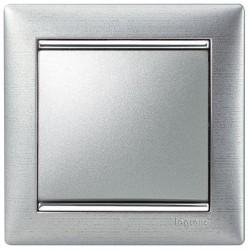 Рамка 1 пост алюминий матовый Legrand Valena