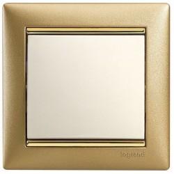 Рамка 1 пост матовое золото Legrand Valena 770301