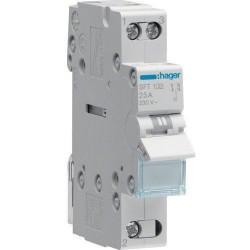 Переключатель перекидной ввода резерва 32А, 1 полюс, SFT132 Hager