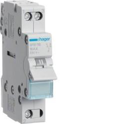 Переключатель перекидной ввода резерва 16А, 1 полюс, SFB116 Hager