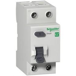 Реле дифференциальное (УЗО) EZ9 2Р 25А 30мА Schneider Electric