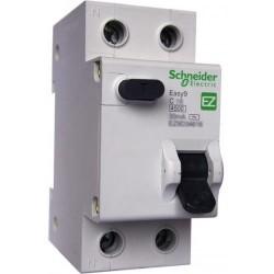 Дифференциальный автомат EZ9 1Р+N 10А 30мА Schneider Electric