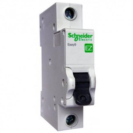 Автоматический выключатель, 1Р, 10А, тип С, 4,5кА, EZ9 Schneider Electric