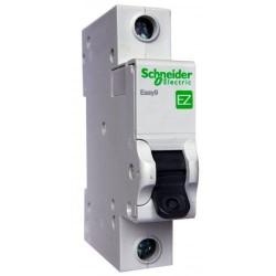 Автоматический выключатель, 1Р, 20А, тип С, 4,5кА, EZ9 Schneider Electric