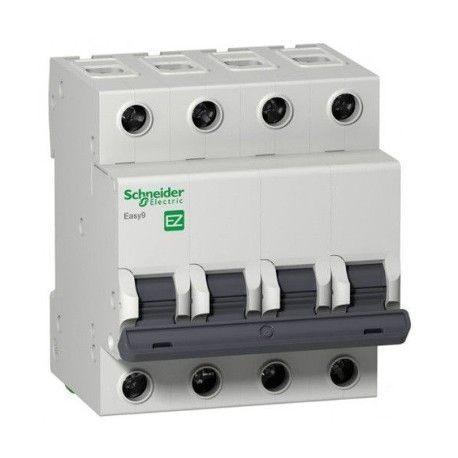 Автоматический выключатель, 4Р, 16А, тип В, 4,5кА, EZ9 Schneider Electric