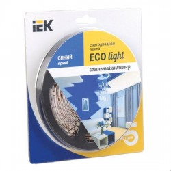 Лента LED 5м блистер LSR-3528B60-4.8-IP65-12V IEK-eco