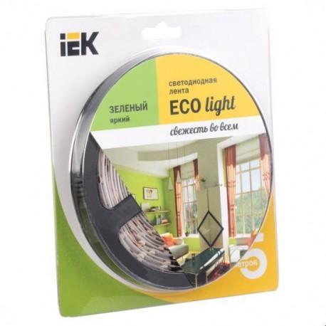 Лента LED 5м блистер LSR-3528G60-4.8-IP20-12V IEK-eco