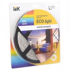 Лента LED 5м блистер LSR-3528RGB54-4.8-IP65-12V IEK-eco