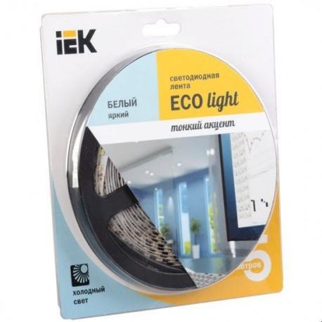 Лента LED 5м блистер LSR-3528W60-4.8-IP20-12V IEK-eco