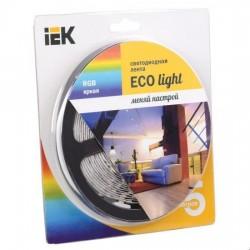 Лента LED 5м блистер LSR-3528RGB54-4.8-IP20-12V IEK-eco
