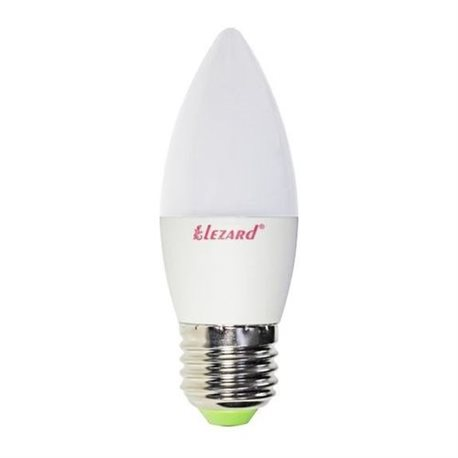 Лампа LED CANDLE B35 5W 2700K E27 220V, Lezard