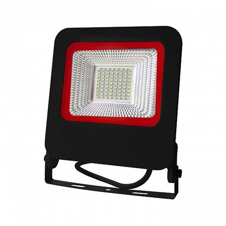 Прожектор Euroelectric LED-FL-50(black)new с радиатором 50W 6500K