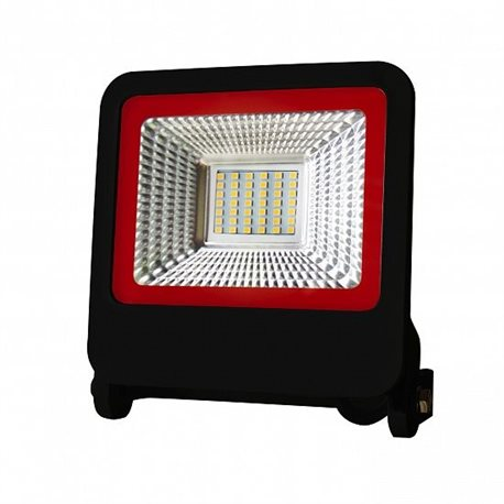 Прожектор Euroelectric LED-FL-30(black)new с радиатором 30W 6500K