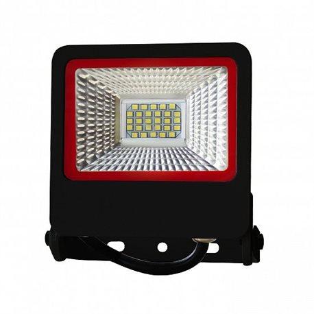 Прожектор Euroelectric LED-FL-20(black)new с радиатором 20W 6500K