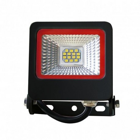 Прожектор Euroelectric LED-FL-10(black)new с радиатором 10W 6500K