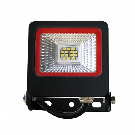 Прожектор Euroelectric LED-FL-10(black)new с радиатором 10W 6500K