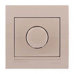 Светорегулятор 1000Вт цвет кремовый, Lezard Deriy 702-0303-157