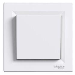 Механизм заглушки, цвет белый, Asfora