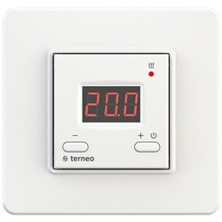 Терморегулятор Terneo Rtp с датчиком пола, белый