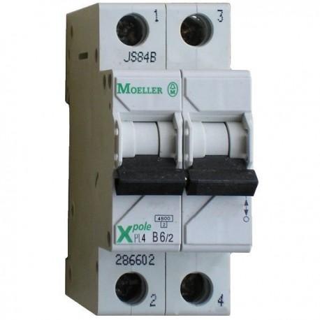Автоматичний вимикач Eaton-Moeller PL-4 C-50/2 2p 4,5 кА