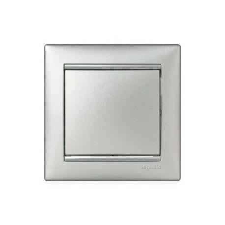 Механизм переключателя 1-кл, Valena Legrand алюминий 770106
