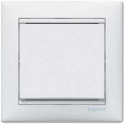 Механизм выключателя 1-клавишного, Valena Legrand белый 774401