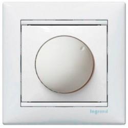 Світлорегулятор Legrand поворотний 40-400Вт білий Валена 770161