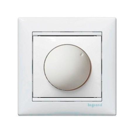 Механізм світлорегулятора 40-400 Вт поворотний білий, Valena Legrand
