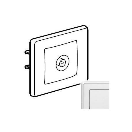 Розетка ТВ проста, колір білий, Legrand Cariva, Legrand