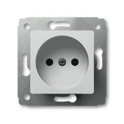 Механизм розетки 2К, белый Cariva