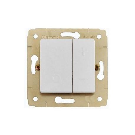 Світлорегулятор 40-600 Вт, колір білий, Legrand Cariva