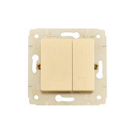 Світлорегулятор 400-600 Вт, колір слонова кістка, Legrand Cariva