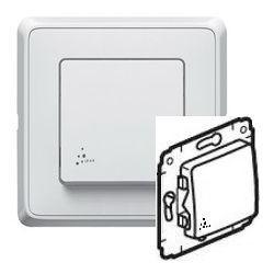 Механизм выключателя 1-кл. ІР44, цвет белый, Legrand Cariva 773609