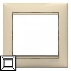 Рамка Legrand 1-а крем Валена 774351